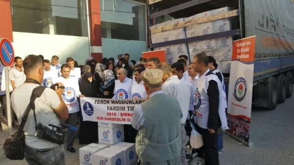 mardin midyat terör mağdurlarına dağıtım