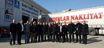 AK Parti Keçiören İlçe Yönetiminden Deniz Feneri Ankara Şubesi'ne Ziyaret