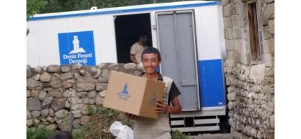 Aydın'da ihtiyaç sahiplerine 50 bin liralık yardım