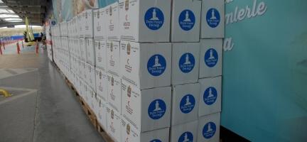 Birleşik Arap Emirlikleri'nden Suriye'ye Gıda Yardımı
