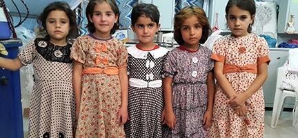 Deniz Feneri 2500 Suriyeli Çocuğa Bayramlık Elbise Dikti