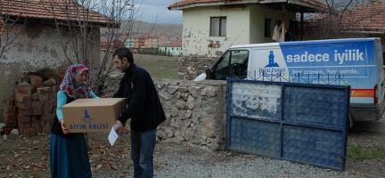 Deniz Feneri Ankara Şubesi Kayseri'de İyilik Dağıttı