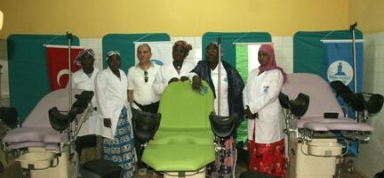 Deniz Feneri'den Nijer'e Hastane