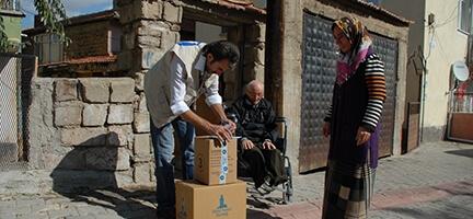 Deniz Feneri Derneği Ankara Şubesi'nden Kırıkkaleli İhtiyaç Sahiplerine Yardım