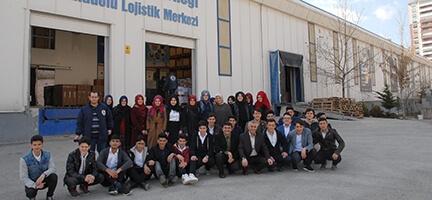 İmam Hatipli Öğrencilerden Ankara Şubemize Ziyaret