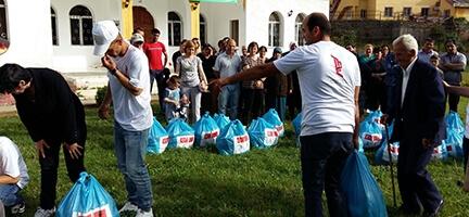 İyilik Elleri Arnavutluk'ta