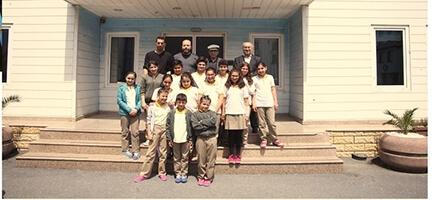 Kağıthane'den genç misafirlerimiz vardı