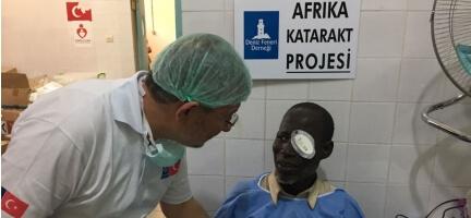 Kara Kıta Afrika'nın Göremeyen Gözleri Işığa Kavuşuyor