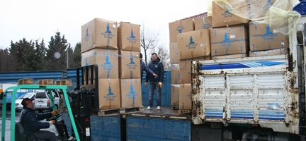 Suriye'ye Yardım Sürüyor