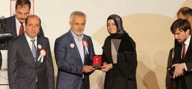 Kızılay'dan Deniz Feneri Derneği Genel Başkanı Av. Mehmet Cengiz'e Altın Madalya