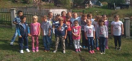 Bosnalı Çocuklar Okul Bekliyor