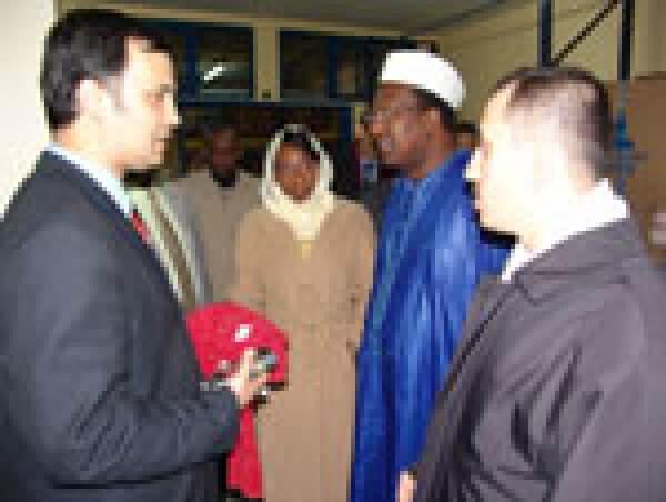 Afrika Birliği Komisyonu Başkanı Deniz Feneri'nde