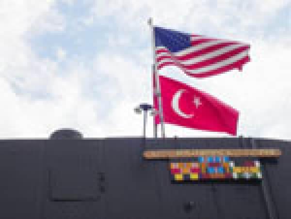Amerika'dan Gelen Bayrak