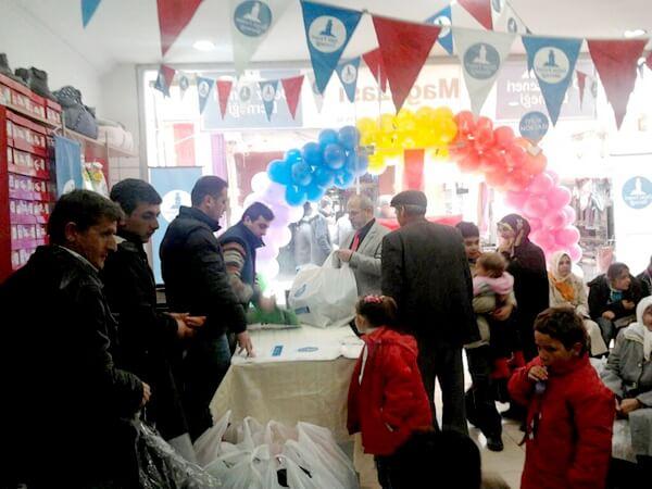 Deniz Feneri Gezici Giyim Mağazası Samsun'da Açıldı