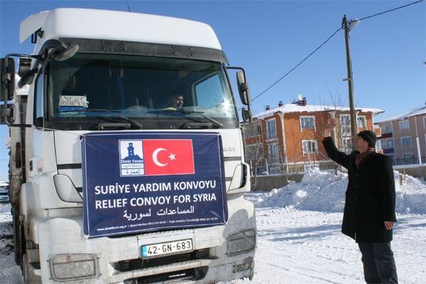 Deniz Feneri Sent 48 Prefabricated Houses to Syria