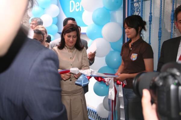 Devlet Bakanı Sayın Nimet Çubukçu, İstanbul Bağcılar Giyim Mağazası'nın Açılışını Yaparken..