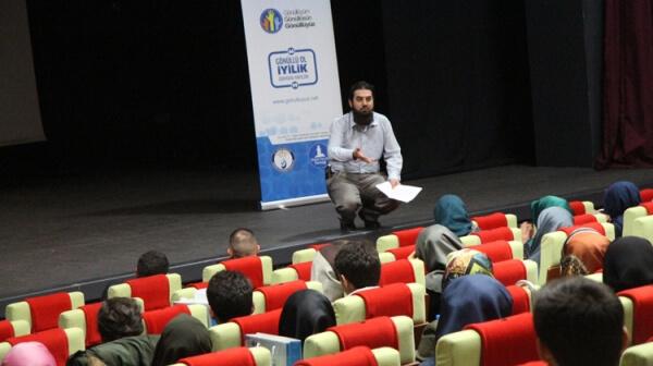 Erzurum'da iyilik gönüllüleriyle buluştuk