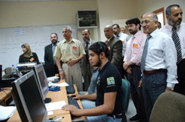 Gazze'de Deniz Feneri Bilgisayar Laboratuarı Açıldı