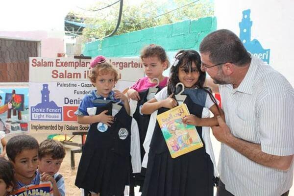 Gazze´de Selam Anaokulu Yeni Öğretim Yılına Başladı