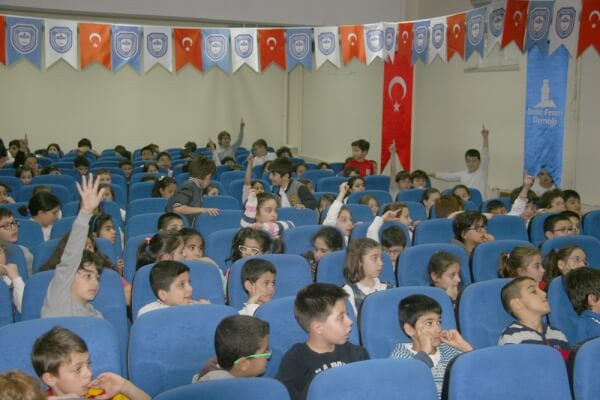 Maltepe İlçesinden Orhangazi İlkokulu'ndayız...