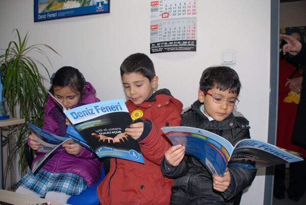 Minik Öğrenciler Ankara Şubemizin Misafiri Oldular