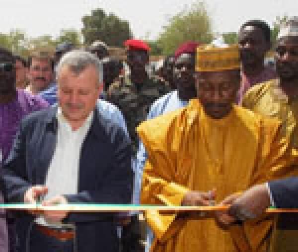 Nijer´de 25 Su Kuyusu ve Sağlık Merkezimiz Açıldı