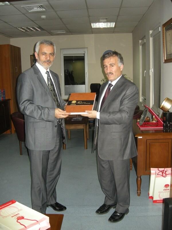 Önder'den Destek Ziyareti