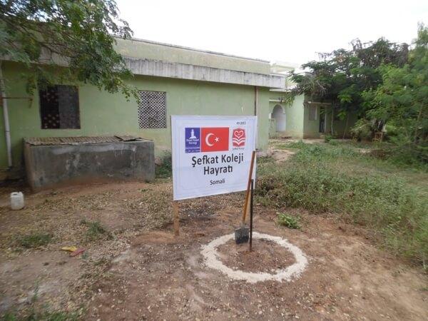 Şefkat Koleji Öğrencileri Somali'de Su Kuyusu Açtırdı