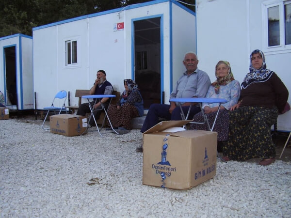 Sinop Boyabat Yukarıseyircek Köyü Afet Evleri