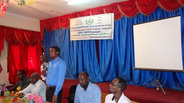Somali Eğitim Merkezi Merhaba Dedi