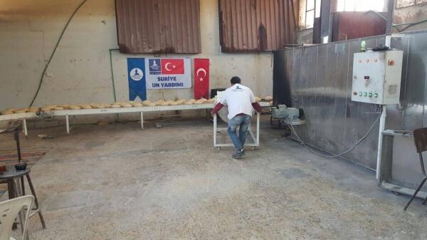 Suriye fırın, ekmek yardımı