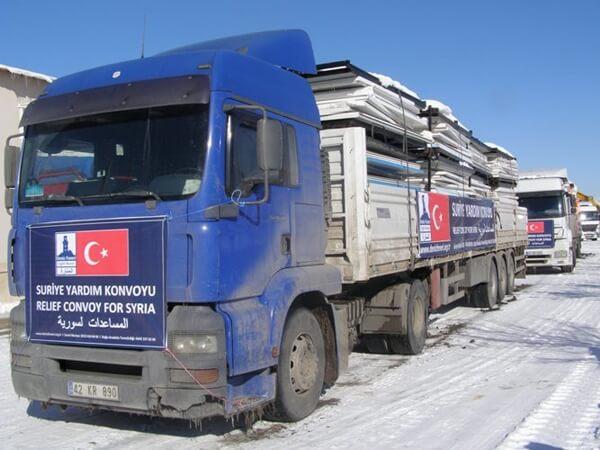 Suriye'ye 48 Afet Evi