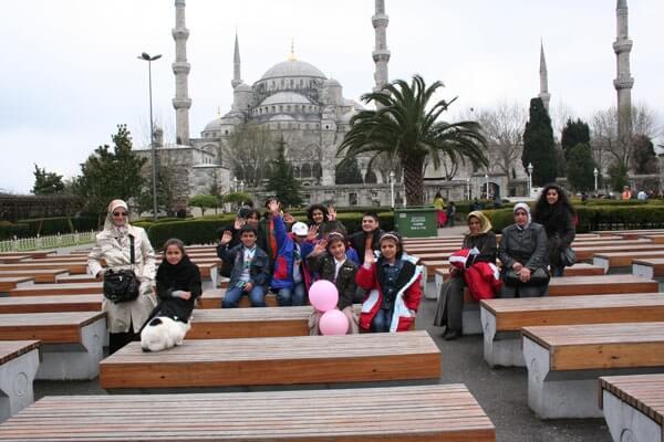 Yetimler İstanbul'u Geziyor