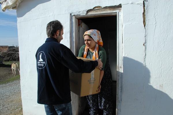 Yozgat Yardim Dagitimi