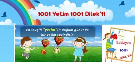 1001 Yetim 1001 Dilek'11 Başlıyor