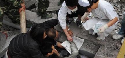 40 Bini Aşkın Kişinin Hayatını Kaybettiği Depremde 600 Çinli Müslümandan Sadece 200´ü Hayatta