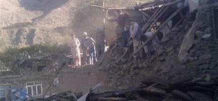 Afganistan ve Pakistan'da Deprem