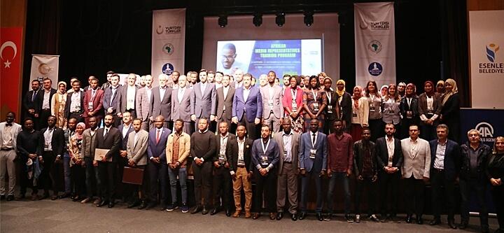 Afrika Medya Temsilcileri Eğitimi Programı