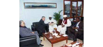Afrikalı Dini Liderlerden Nezaket Ziyareti