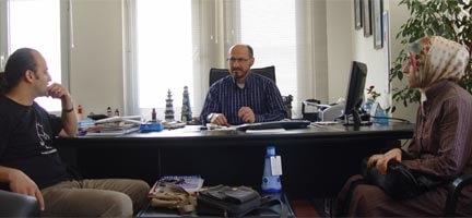 Ankara Şubemize Mazlumder'den Destek Ziyareti