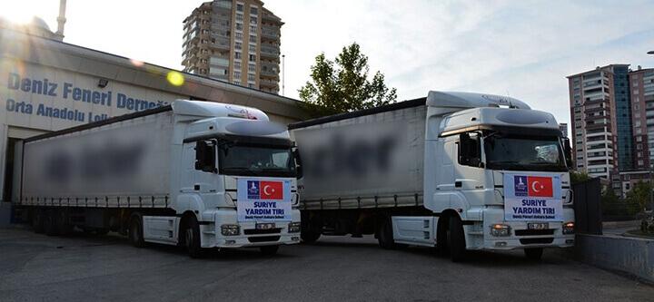 Ankara Şubemizin Yardım Tırları Yolda!