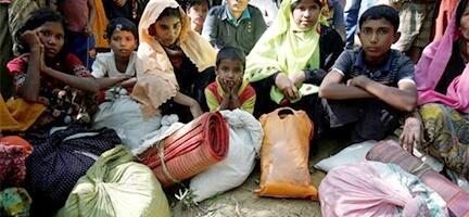 Arakanlı Müslümanlar Yardım Bekliyor