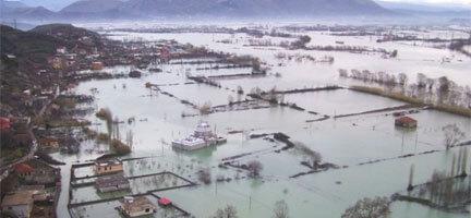 Balkanlar'ı Sel Aldı