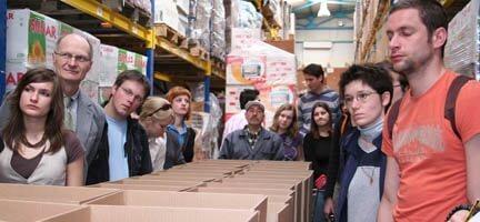 Bamberg Üniversitesi´nden Öğrenciler Derneğimizi Ziyaret Etti