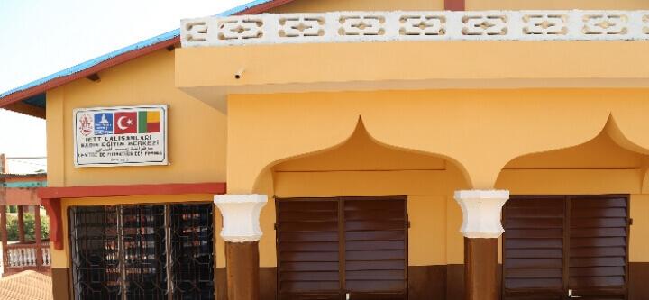 Benin'de İETT Çalışanları Kadın Eğitim Merkezi