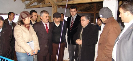 Bursa Valiliği'nden, Armutçuk Köyü'ne Ziyaret