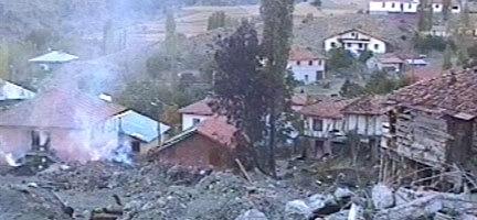 Çankırı'da Bir Köy Alevlerin Kurbanı