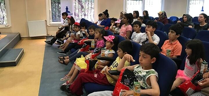 Çocuklar İçin Sinema Günü Etkinliği