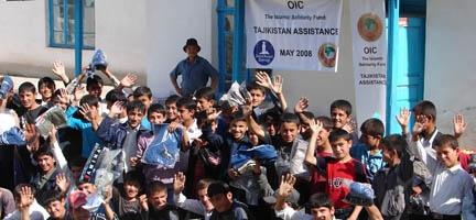 Deniz Feneri, 2008 yılında, Orta Asya´nın En Fakir Ülkesi Tacikistan´daki Halkın Yanındaydı