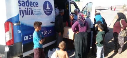 Deniz Feneri Ankara Şubesi Aksaray'da yoksulları sevindirdi
